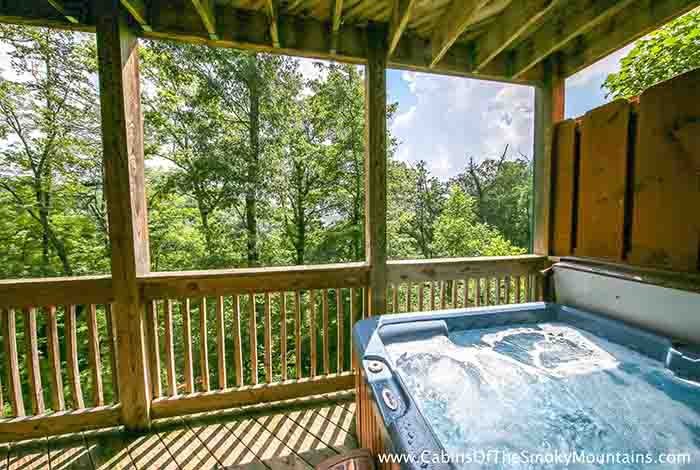bedroom cabins in pigeon forge tn