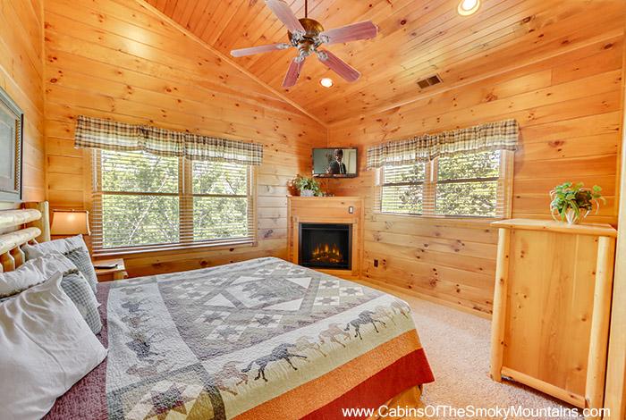 Gatlinburg Cabin Wilderness Lodge 4 Bedroom Sleeps 12