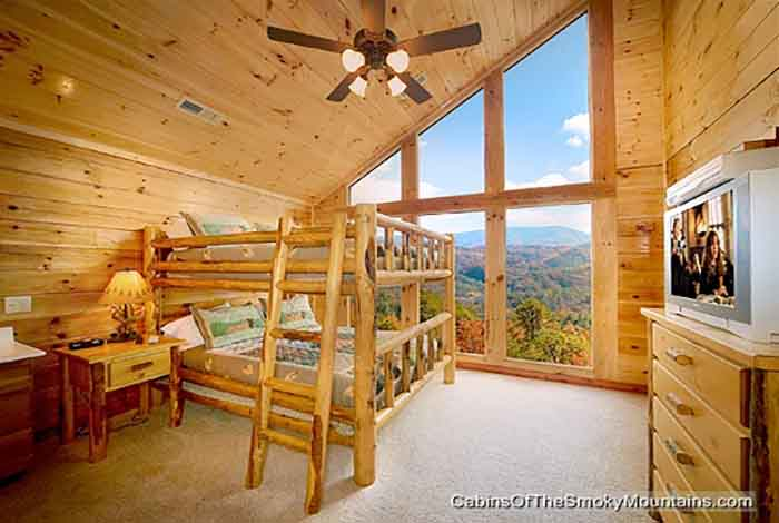 Pigeon Forge Cabin Window To Heaven 5 Bedroom Sleeps 18