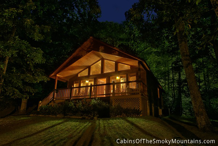 Pigeon Forge Cabin Wooded Wonderland 2 Bedroom Sleeps 6