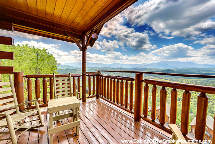 Pigeon forge cabin mountain paradise 1 bedroom sleeps 6 for Discount smoky mountain cabin rentals