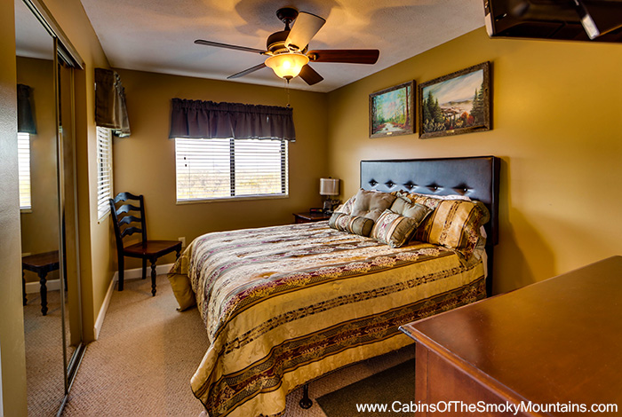 Pigeon Forge Cabin National Park Panorama 1 Bedroom Sleeps 4