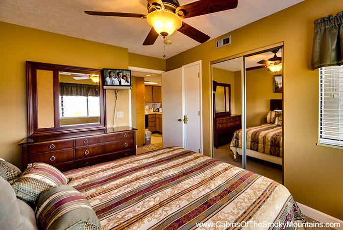 Pigeon forge cabin national park panorama 1 bedroom sleeps 4 for 20 bedroom cabin in gatlinburg