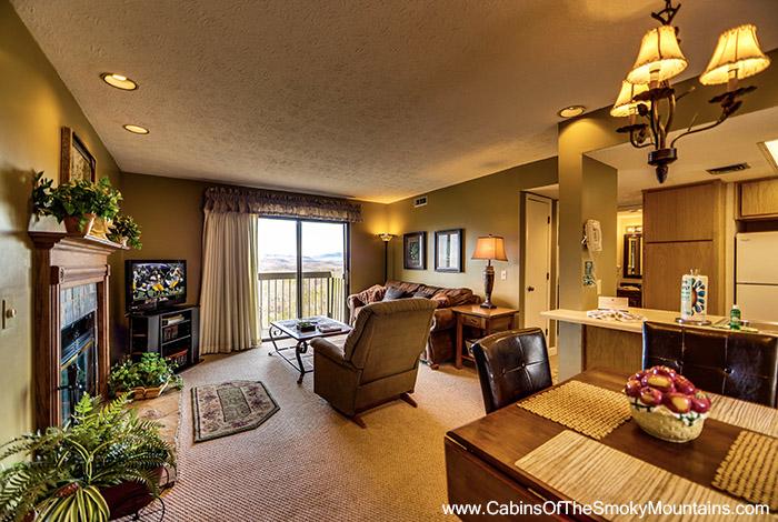 Gatlinburg Cabin National Park Panorama 1 Bedroom Sleeps 4 Swimming Pool Access Sauna