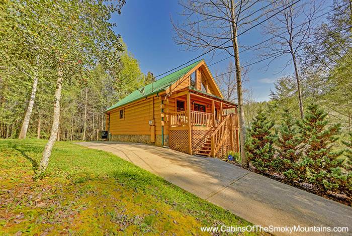 Pigeon Forge Cabin Rustic Splash 1 Bedroom Sleeps 6