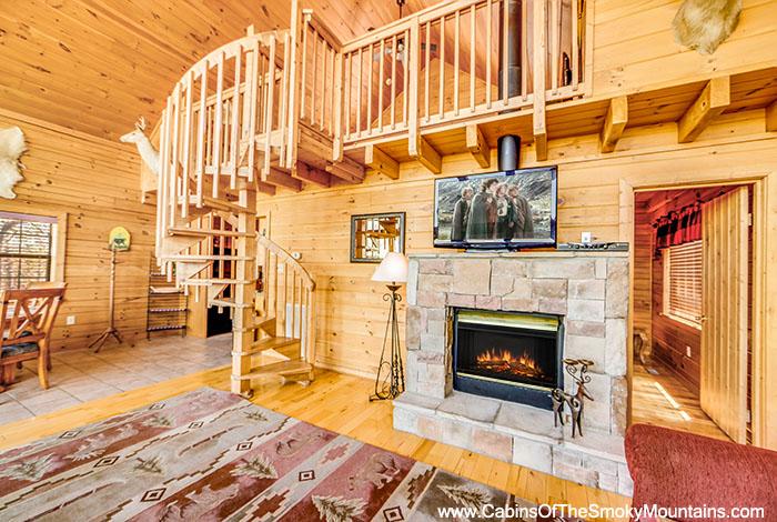 Strange Pigeon Forge Cabin Magical Sunset 1 Bedroom Sleeps 4 Download Free Architecture Designs Scobabritishbridgeorg