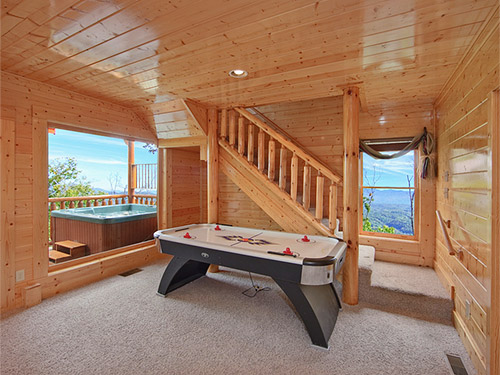 Pigeon forge cabin summer breeze 2 bedroom sleeps 11 - Cabins with swimming pools in pigeon forge ...