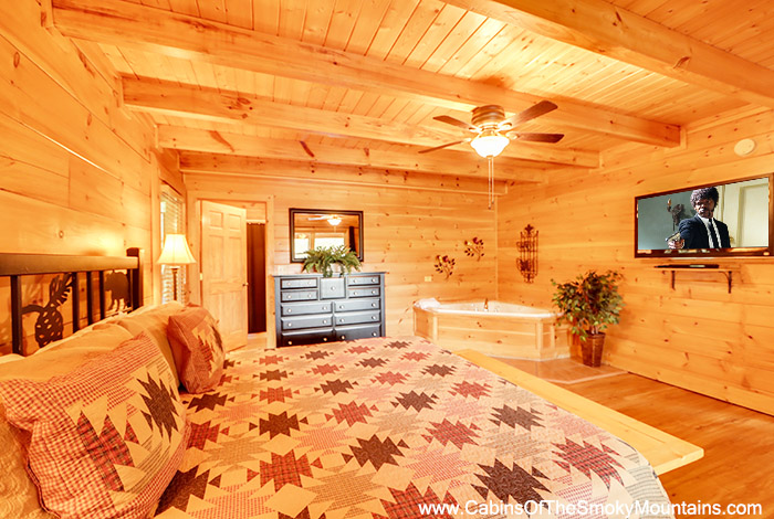 Pigeon Forge Cabin Absolutely Fabulous 1 Bedroom Sleeps 6