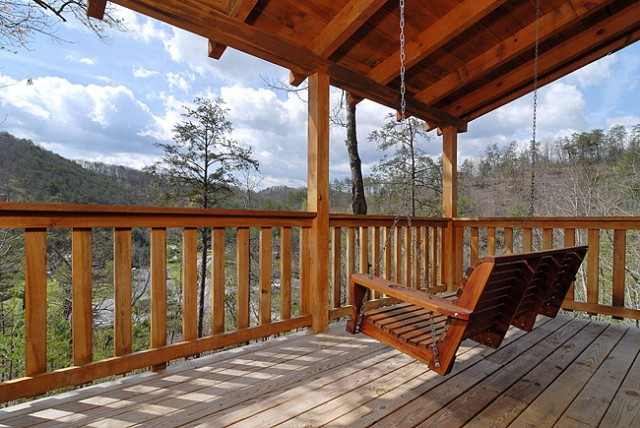 Pigeon forge cabin bear claws 1 bedroom sleeps 9 for Nuvola 9 cabin gatlinburg