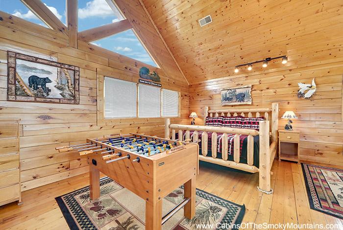 Pigeon Forge Cabin Eagles Nest 1 Bedroom Sleeps 8