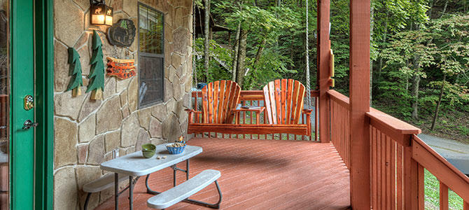 Pigeon forge cabin bear tracks 3 bedroom sleeps 7 - 7 bedroom cabins in pigeon forge ...