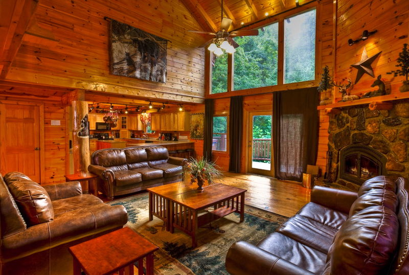 Pigeon Forge Cabin Wolfsong Lodge 5 Bedroom Sleeps 20