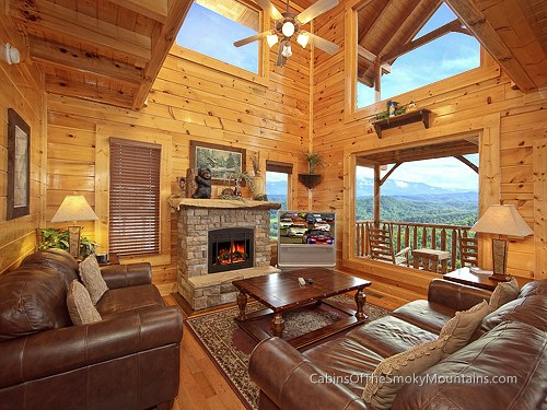 pigeon forge cabin picture perfect 1 bedroom sleeps 6 jacuzzi