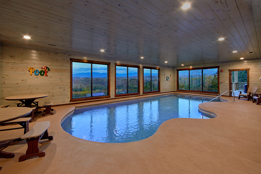 Mountain Pool and Views picture