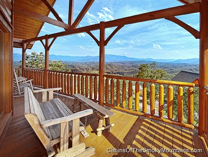 Pigeon forge cabin breathless 3 bedroom sleeps 8 for Discount smoky mountain cabin rentals