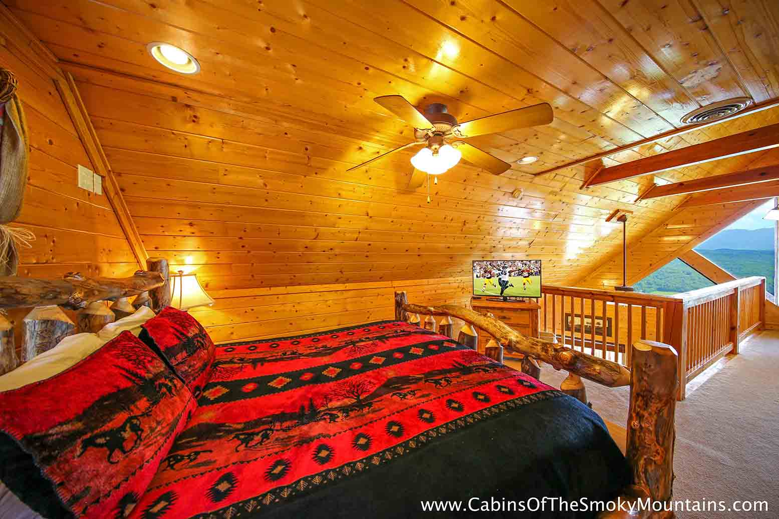 Pigeon forge cabin breathless from for Pigeon forge cabin coupons