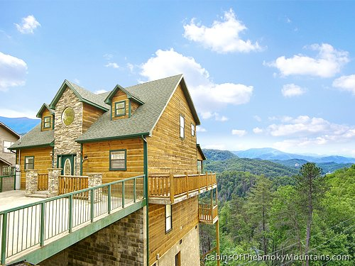 Gatlinburg cabin mountain haven 5 bedroom sleeps 14 for Rent cabin smoky mountains