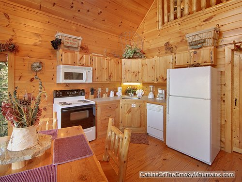 Gatlinburg Cabin Sugar Shack 1 Bedroom Sleeps 6