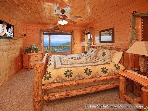 pigeon forge cabin heavenly high 1 bedroom sleeps 6