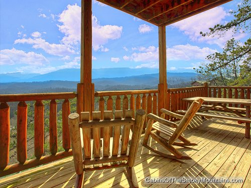 Pigeon Forge Cabin All About The View 4 Bedroom
