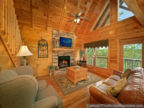 Pigeon Forge Cabin Mountain Elegance 2 Bedroom Sleeps 6