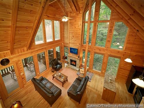 Gatlinburg Cabin - Mountain Blessing - 4 Bedroom - Sleeps 13 ...
