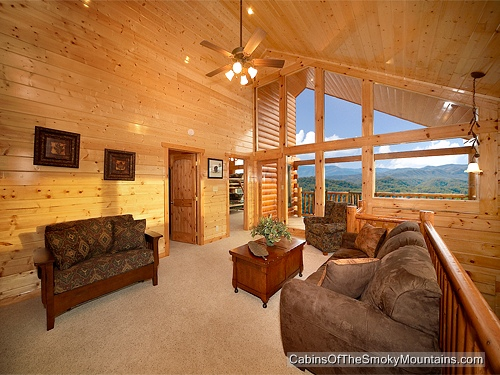Pigeon Forge Cabin Mt Leconte View 5 Bedroom Sleeps 18 Jacuzzi Bunk Beds Swimming