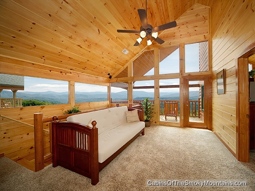 Pigeon Forge Cabin Smoky Mountain Lookout 4 Bedroom Sleeps 14 Jacuzzi Swimming Pool Access
