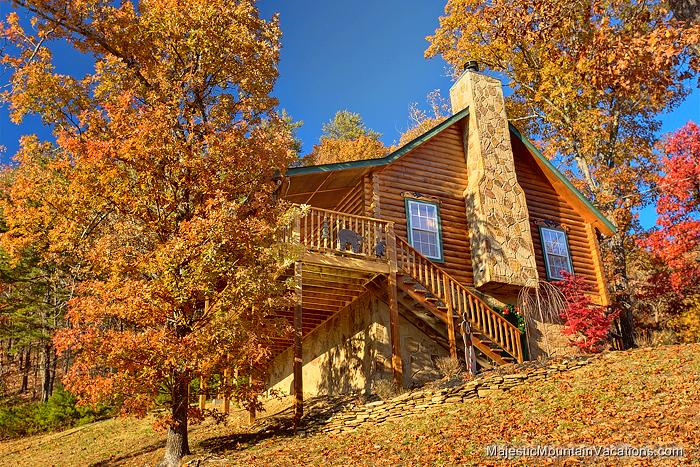 Wears valley cabin serendipity 1 bedroom sleeps 6 Cabin rental smokey mountains