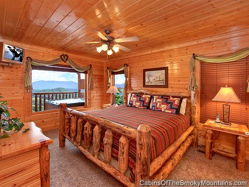 Pigeon Forge Cabin Sugar Bear 39 S Den 1 Bedroom Sleeps 6