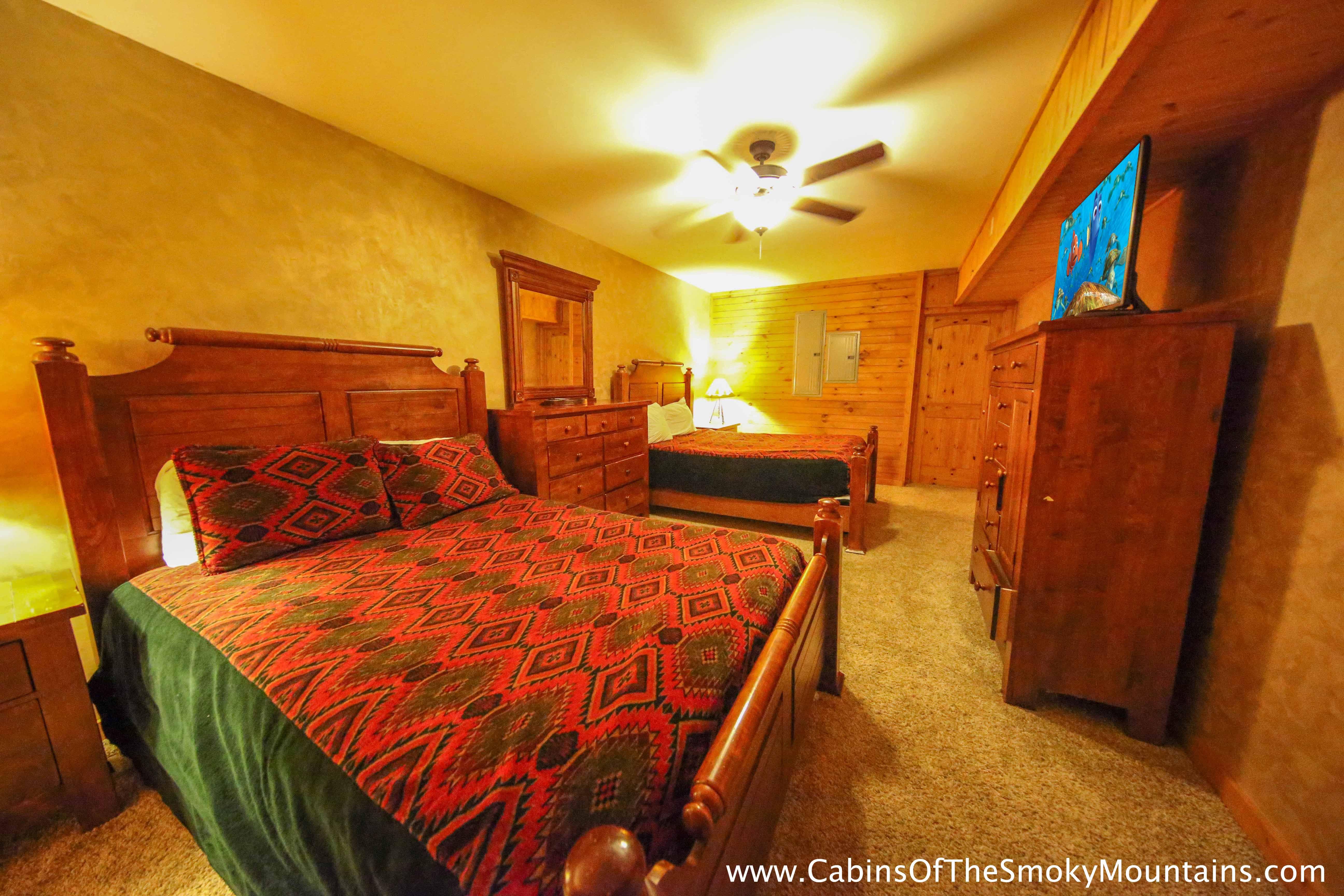 Pigeon Forge Cabin Heaven 39 S Hidden View 6 Bedroom Sleeps 24
