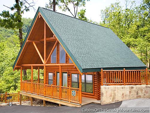 Pigeon Forge Cabin Big Black Bear Lodge 4 Bedroom Sleeps 13