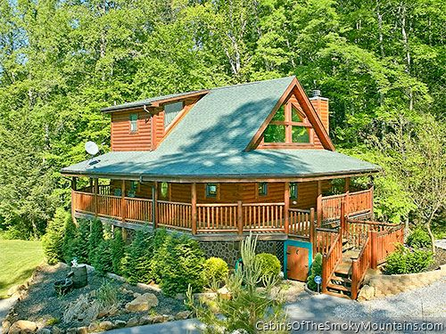 Wears valley cabin shady creek retreat 1 bedroom for Cabin rentals near smoky mountains