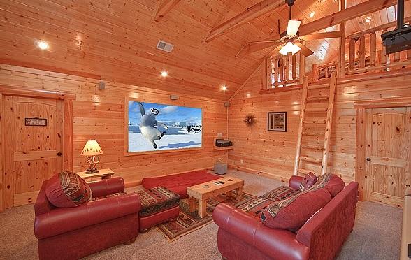 Pigeon Forge Cabin Grandeur Grace 5 Bedroom Sleeps 16