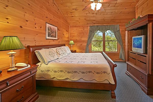 Pigeon Forge Cabin Smoky Mountain Ridge 3 Bedroom Sleeps 10