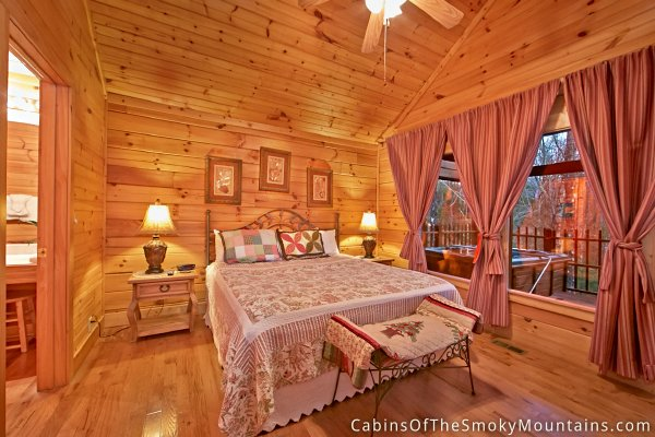 Pigeon Forge Cabin Smoky Mountain Memories 1 Bedroom Sleeps 4