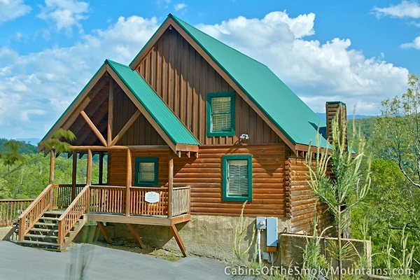 Pigeon Forge Cabin Lap Of Luxury 6 Bedroom Sleeps 20 Jacuzzi Swimming Pool Access
