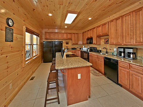 Pigeon Forge Cabin Splash Mansion 11 Bedroom Sleeps 40 Jacuzzi Bunk Beds