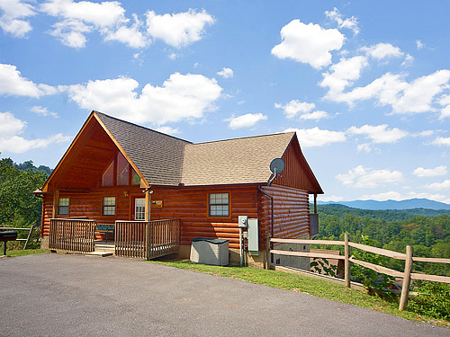 Pigeon Forge Cabin Private Sunsets 2 Bedroom Sleeps 6 Jacuzzi Swimming Pool Access
