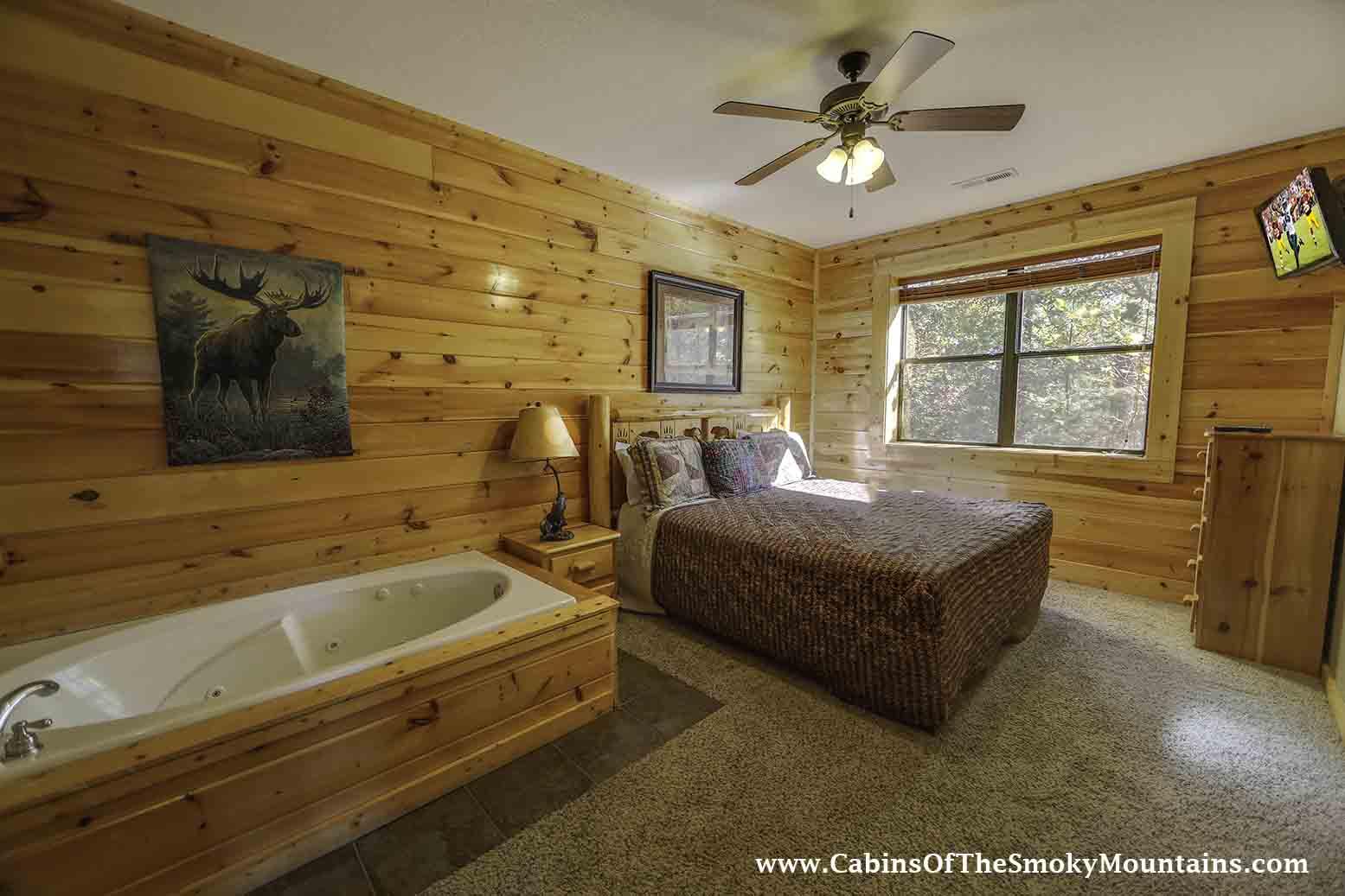 Gatlinburg cabin gatlinburg overlook 3 bedroom for 3 bedroom cabins in smoky mountains