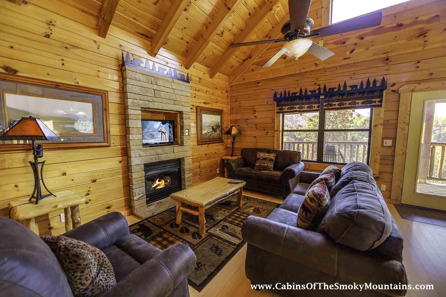 gatlinburg cabin gatlinburg overlook from