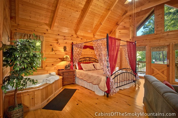 Gatlinburg Cabin Honeymoon Magic 1 Bedroom Sleeps 4
