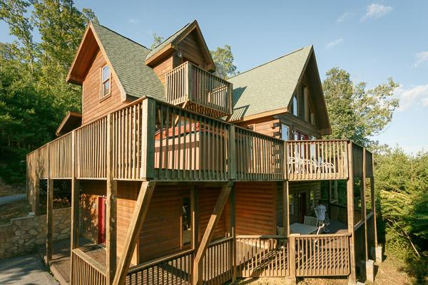 4 Bedroom Cabins In Gatlinburg Pigeon Forge Tn