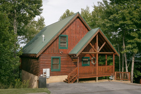 pigeon forge cabin cozy bear cabin from