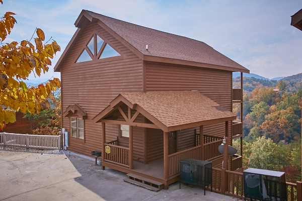 Pigeon Forge Cabin Eagle 39 S Perch 4 Bedroom Sleeps 12 Jacuzzi Bunk Beds Home Theater
