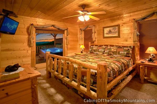 pigeon forge cabin million mile view 1 bedroom sleeps 6