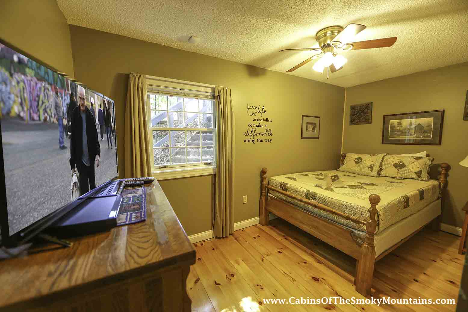Pigeon Forge Cabin In The Still Of The Night 4 Bedroom Sleeps 10