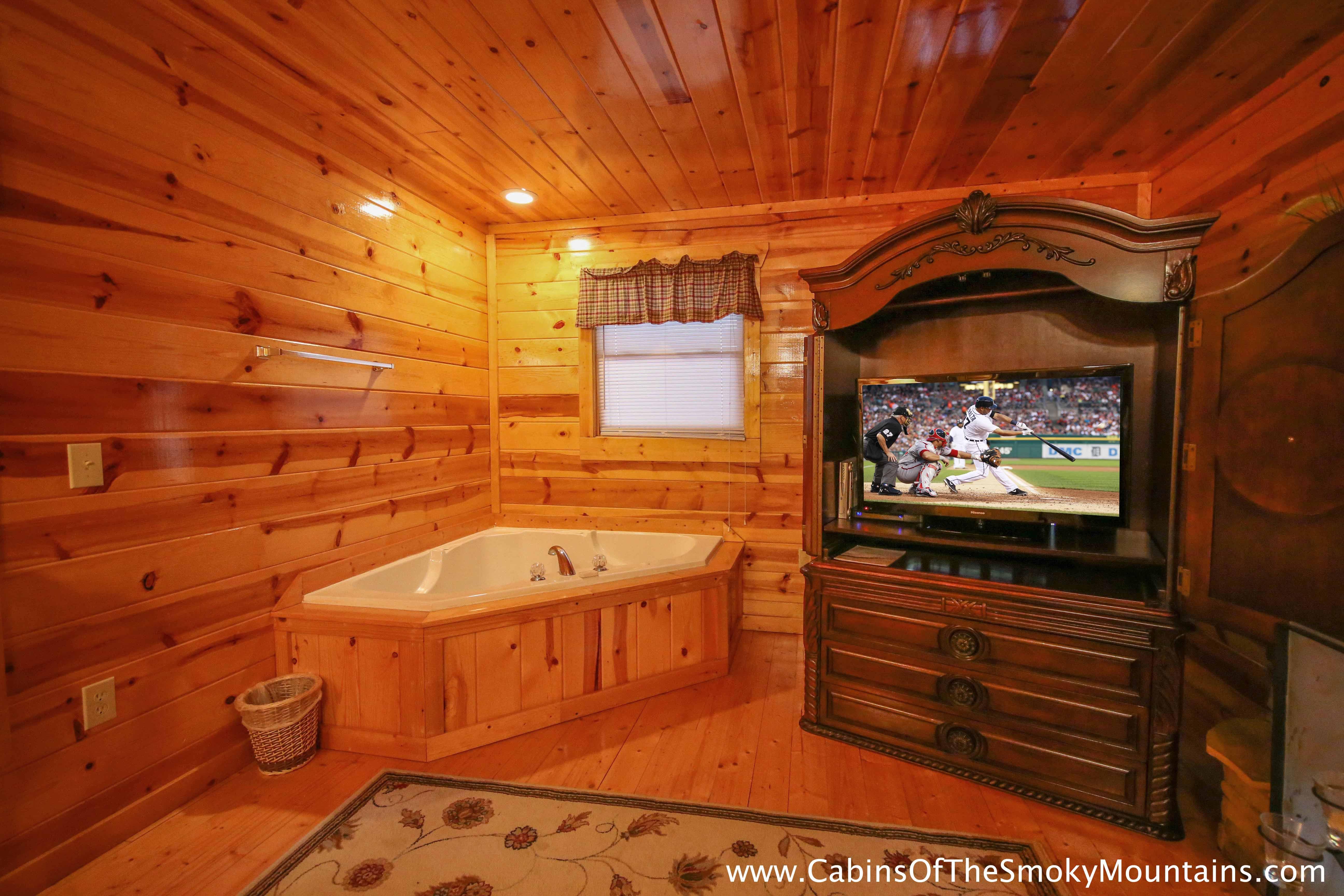 Pigeon Forge Cabin Bearadise 5 Bedroom Sleeps 14