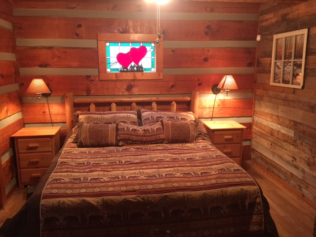 pigeon forge cabin mountain bearadise 1 bedroom sleeps 4