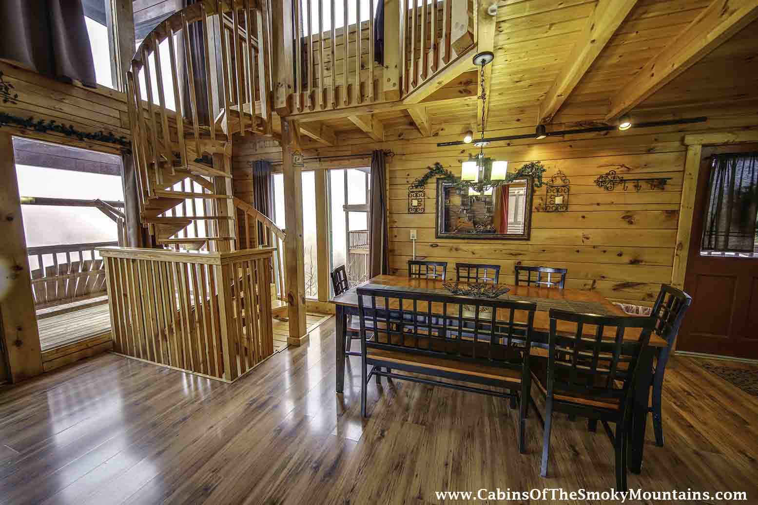 Pigeon Forge Cabin Vantage Point 2 Bedroom Sleeps 8 Home Theater
